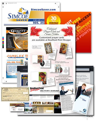 Commercial printing bradford print shoppe established as a commercial print shop prints business cards letterhead envelopes ncr invoices work orders driver logs reheart Image collections